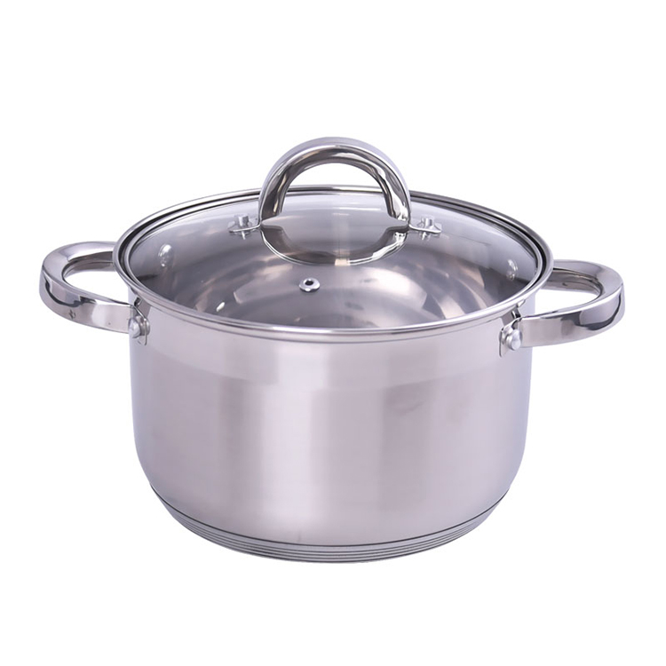 20CM STAINLESS STEEL CASSEROLE KH-2245