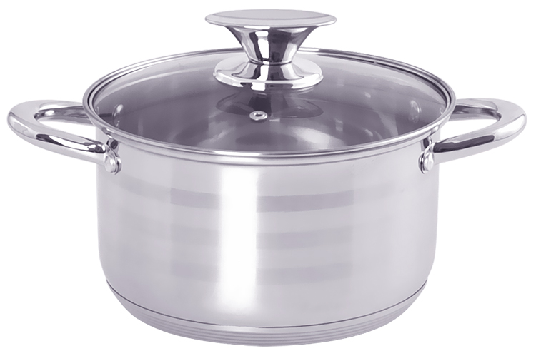 20CM STAINLESS STEEL CASSEROLE LB-1104S-20