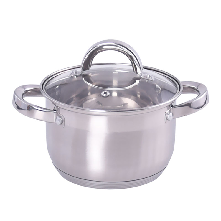 16CM STAINLESS STEEL CASSEROLE LB-1841A